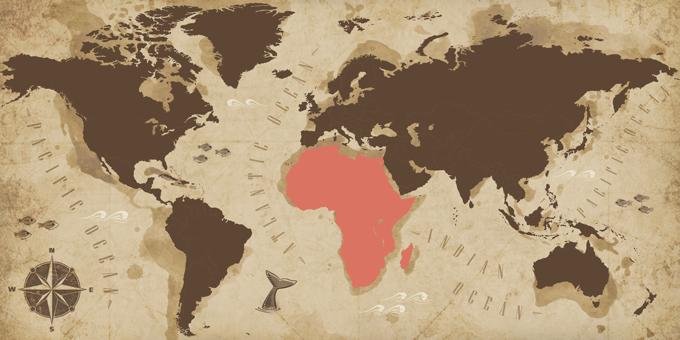 Afrique - Carte