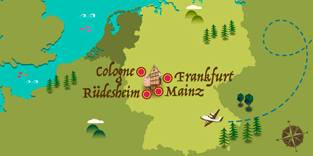 Allemagne - Carte