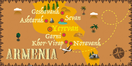 Arménie - Carte
