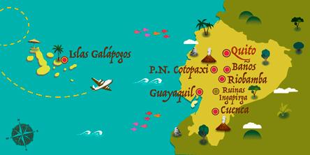 Équateur - Carte