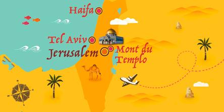 Israël - Carte