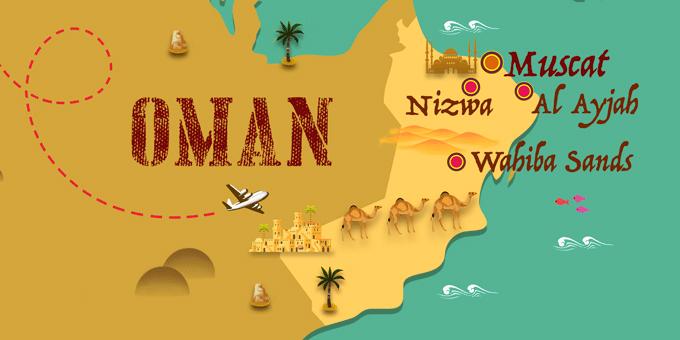 Oman - Carte