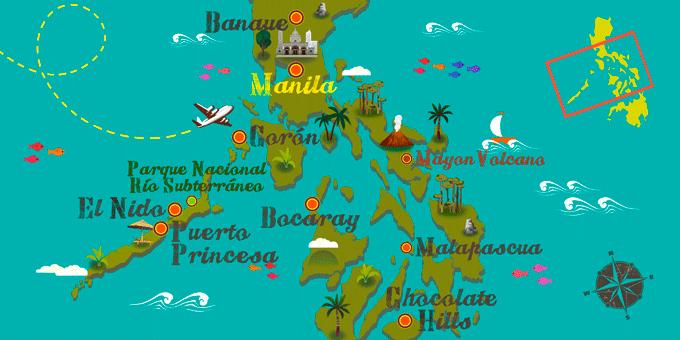 Philippines - Carte
