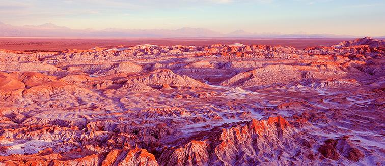 5.-El desierto de Atacama, Chile.