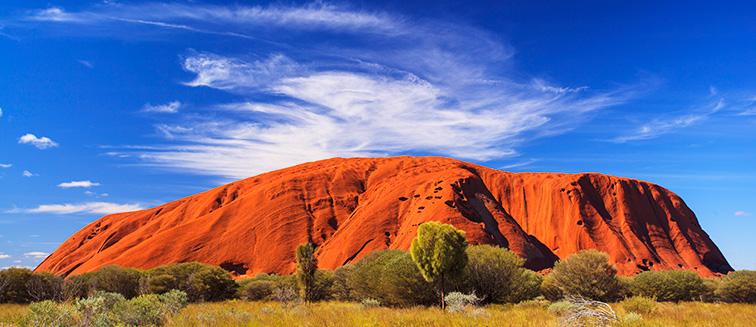 Meilleur moment pour se rendre en Australie centrale