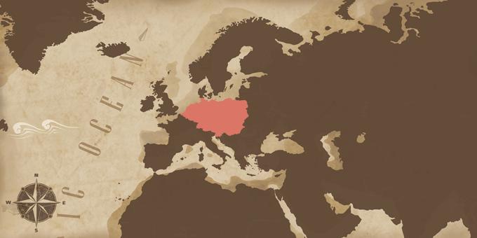 Europe centrale - Carte
